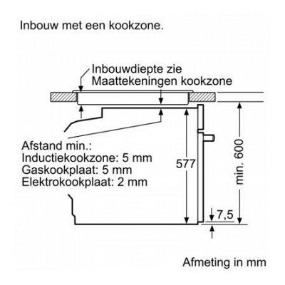 Maatschets HB835GTB1