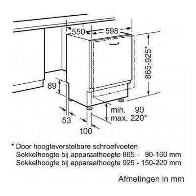 Maatschets SX836X12IE