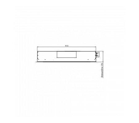 0401EM960B GUTMANN Plafond afzuigkap