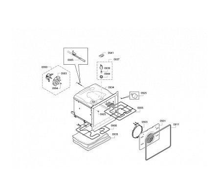CB635GBS1 SIEMENS Inbouw oven