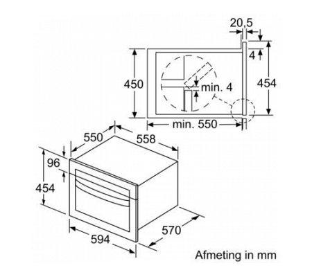 CMA585MS0 BOSCH Combimagnetron
