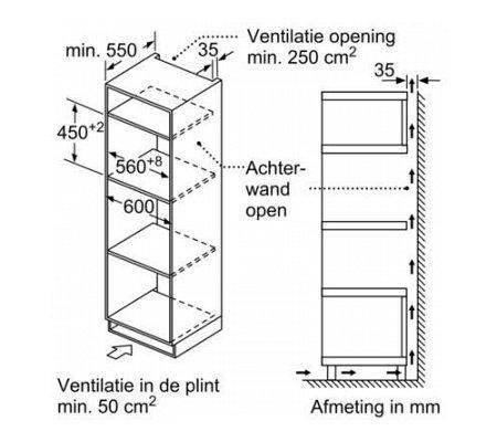 CMA585MS0 BOSCH Combi magnetron