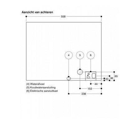 CMP270111 GAGGENAU Inbouw koffieautomaat