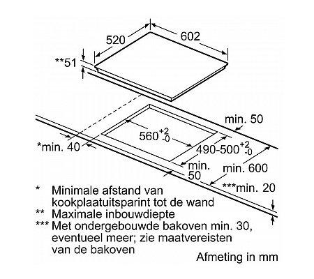 EH675FEC1E SIEMENS Inductie kookplaat