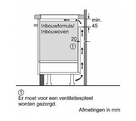 EH845BFB1E SIEMENS Inductie kookplaat