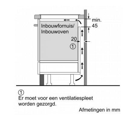 EH877FVB1E SIEMENS Inductie kookplaat
