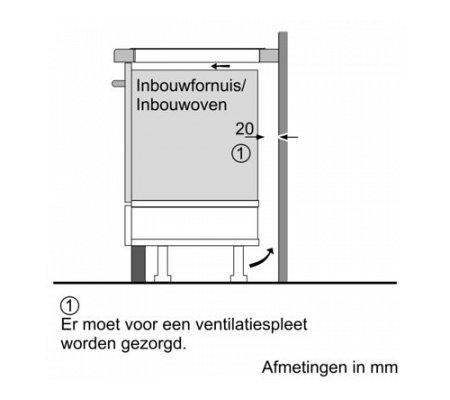 EX875LVB1E SIEMENS Inductie kookplaat