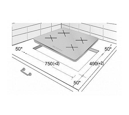 HII84501HT BEKO Inductie kookplaat