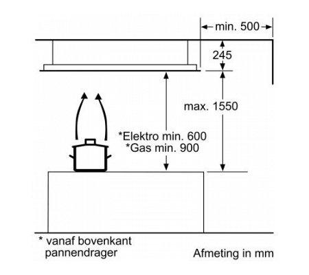 I92CN48W0 NEFF Plafond afzuigkap