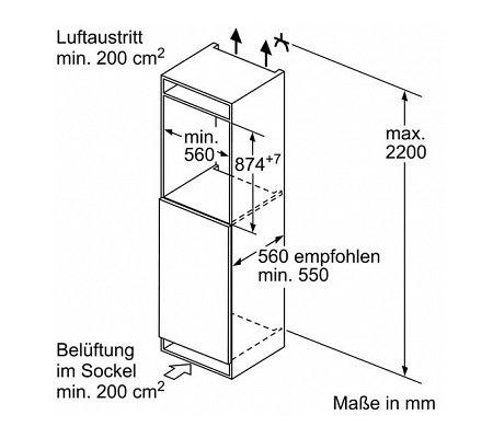 KI21RAD40 SIEMENS Inbouw koelkasten t/m 88 cm