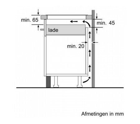 PVQ775FC5E BOSCH Inductie kookplaat