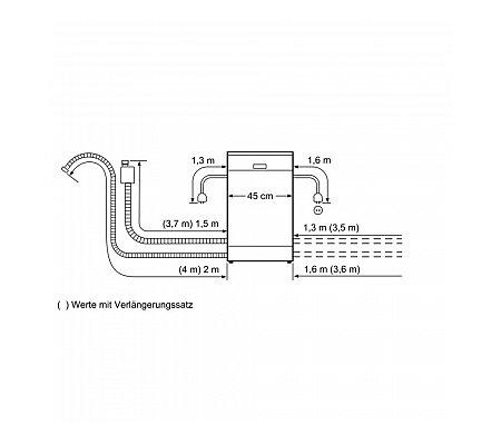SPV46IX07E BOSCH Volledig geintegreerde vaatwasser
