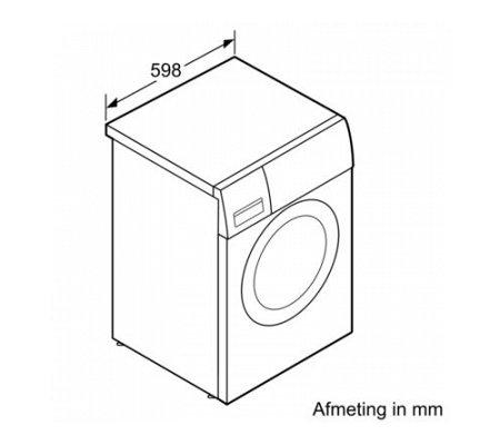 WAN28062NL BOSCH Wasmachine vrijstaand
