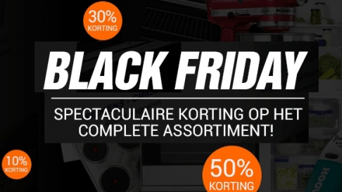 Black friday deals keukenloods