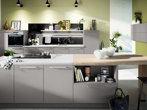 Keukens - Pearl Grey