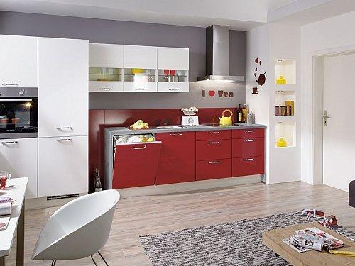 Keukens - Flash Rood/Wit