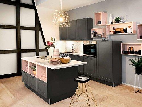 Keukens - Lotus grafiet