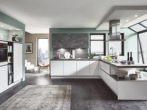 Keukens - Fashion Grijs Wit