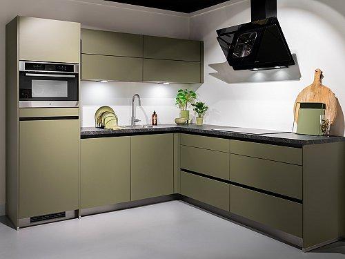 Keukens - C-IP1200 Terra Opaal Hoekkeuken
