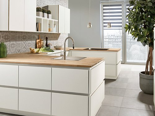 Keukens - P-Line X Arctic Wit