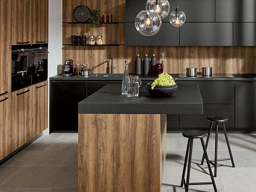 Keukens - P-Line Y Organisch Zwart