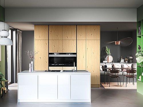 Keukens - H-Line AV6082 Wildeiche Natur