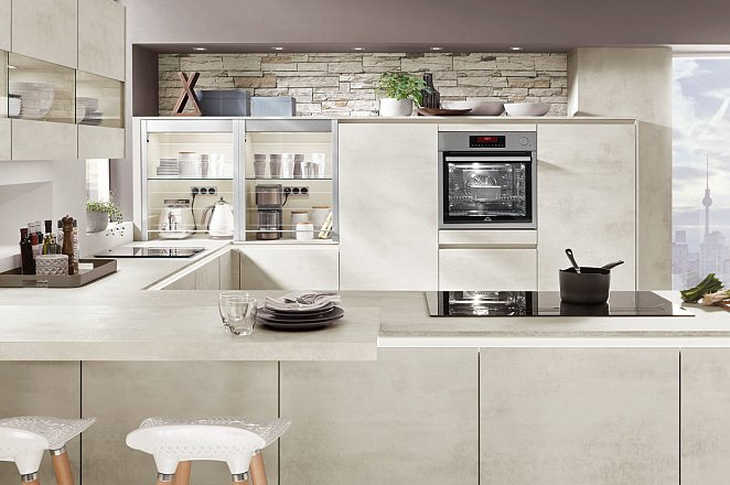 Strakke keuken met eetbar - Afbeelding 3 van 7