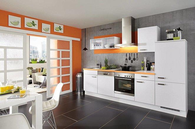 Moderne keuken in rechte opstelling - Afbeelding 2 van 3