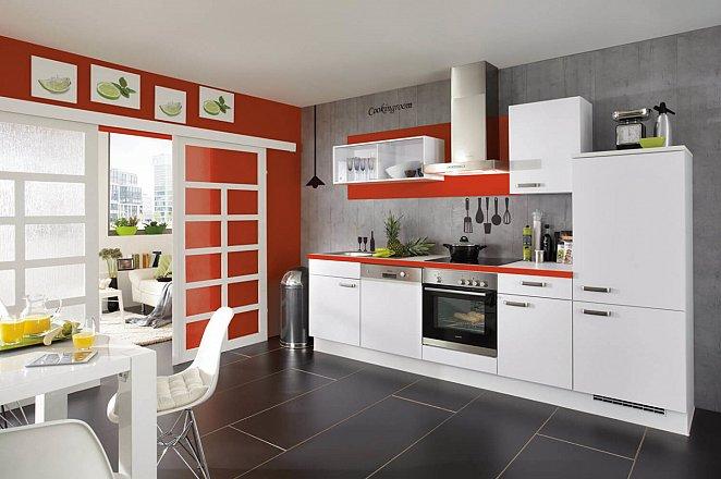 Moderne keuken in rechte opstelling - Afbeelding 3 van 3