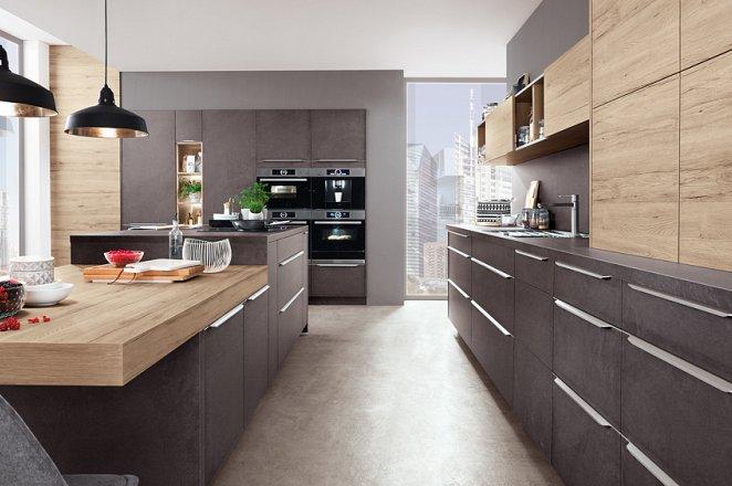 Ruime keuken in het matgrijs - Afbeelding 3 van 6