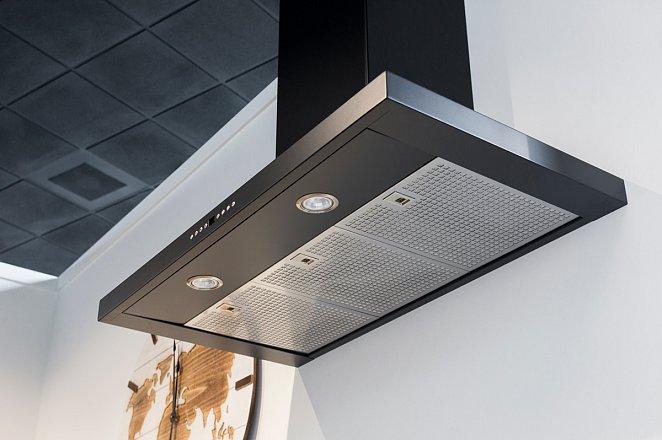 Rechte keuken met kastenwand in lichtgrijs - Afbeelding 6 van 7