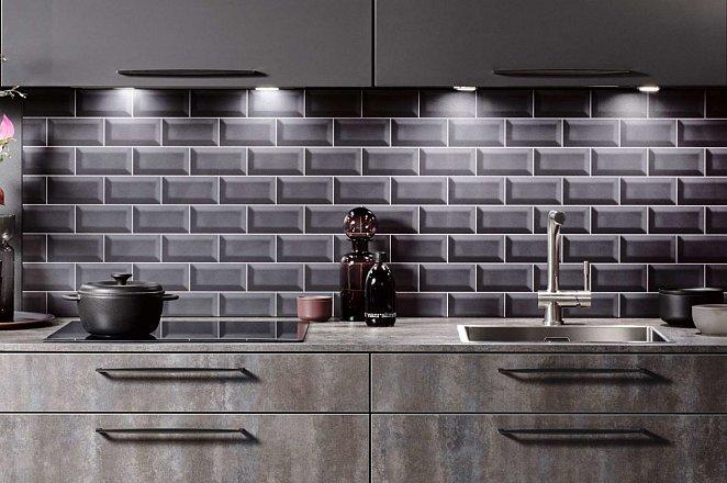 Luxe rechte keuken in donker design - Afbeelding 4 van 5