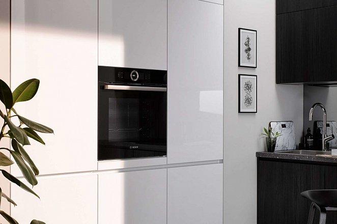 Smalle rechte keuken met kastenwand - Afbeelding 5 van 6