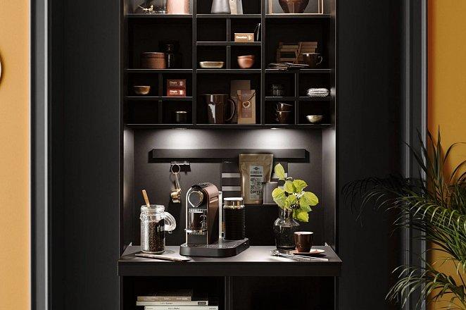 Zwarte keuken met spoeleiland - Afbeelding 5 van 10