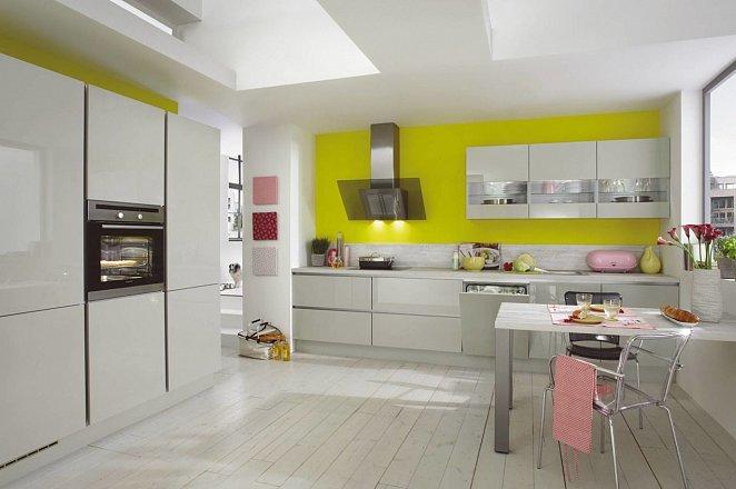 Rechte keuken met kastenwand - Afbeelding 1 van 3