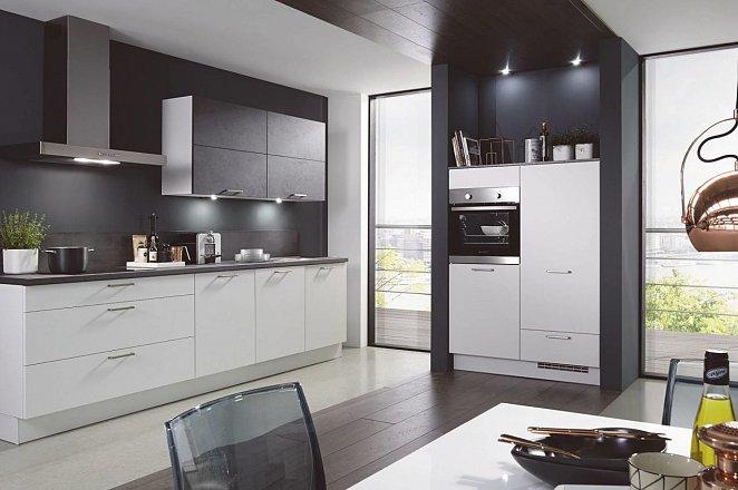Rechte keuken met apparatuurkast - Afbeelding 1 van 3