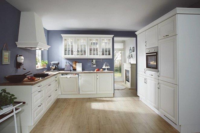 Hoekkeuken met los keukenelement - Afbeelding 1 van 1