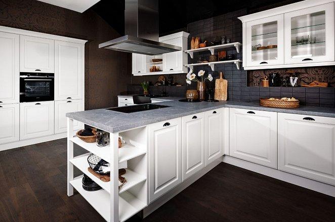 T-Keuken met kastenwand - Afbeelding 1 van 2
