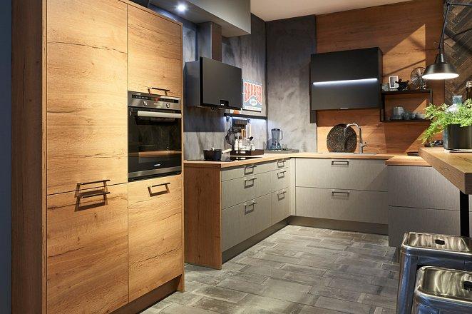 U-keuken met losse elementen - Afbeelding 1 van 1