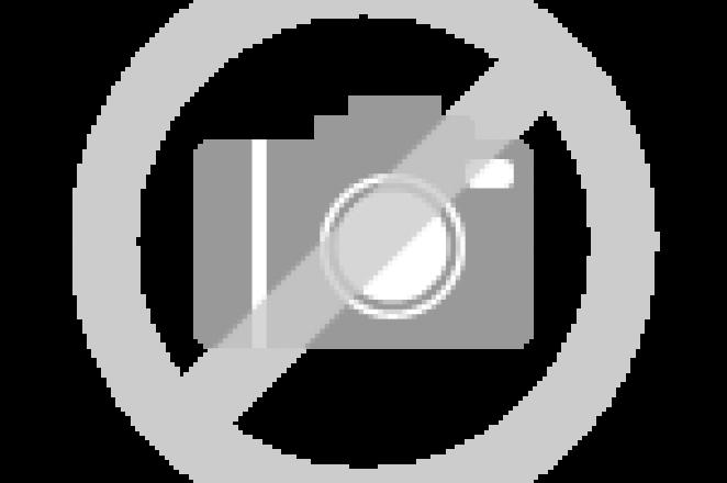 Rechte keuken met kastenwand in houtdecor - Afbeelding 1 van 8