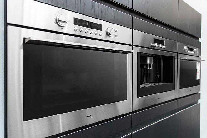 Eiland keuken in wit hoogglans lak/eiken basalt - Afbeelding 10 van 10