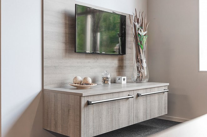Rechte keuken in houtdecor - Afbeelding 7 van 7