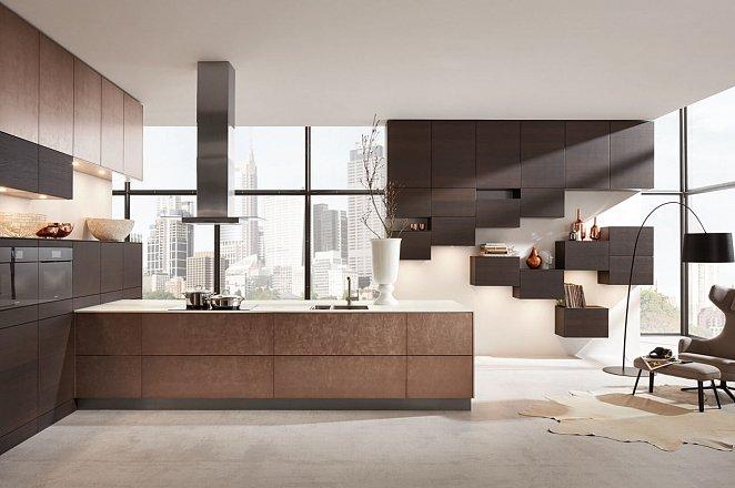 Luxe greeploze keuken in natuurlijke materialen - Afbeelding 1 van 4