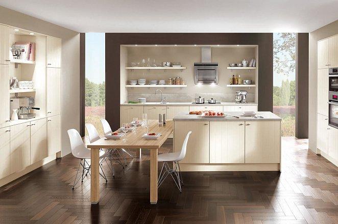 Gezellige woonkeuken in modern design - Afbeelding 1 van 1