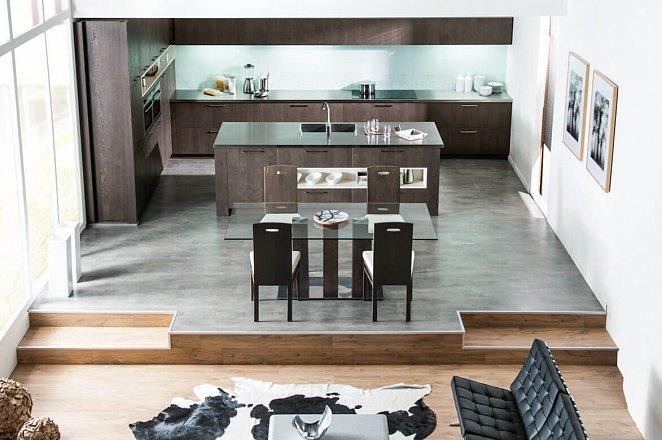 Grote keuken met spoeleiland - Afbeelding 1 van 2