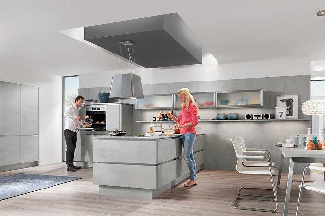 Moderne eiland keuken - Afbeelding 1 van 7