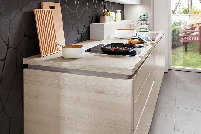 Rechte keuken met kastenwand - Afbeelding 3 van 4