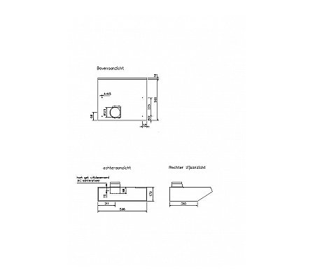 D906 NOVY Onderbouw afzuigkap