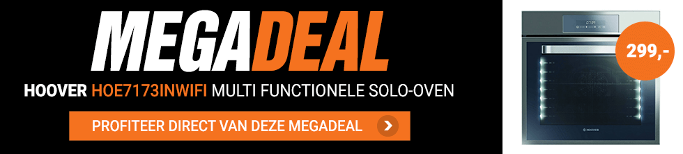 Hoover solo oven Megadeal