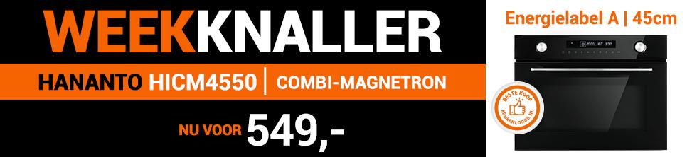 Weekknaller: Hananto combi-magnetron!